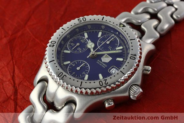 Used luxury watch Tag Heuer Link chronograph steel automatic Kal. 1.97 ETA 7750 Ref. GC2111-RO  | 142596 01