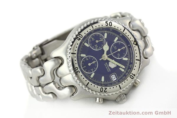 Used luxury watch Tag Heuer Link chronograph steel automatic Kal. 1.97 ETA 7750 Ref. GC2111-RO  | 142596 03