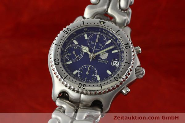 Used luxury watch Tag Heuer Link chronograph steel automatic Kal. 1.97 ETA 7750 Ref. GC2111-RO  | 142596 04