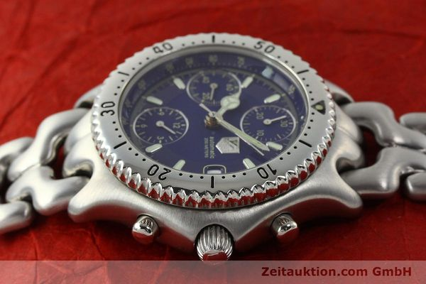 Used luxury watch Tag Heuer Link chronograph steel automatic Kal. 1.97 ETA 7750 Ref. GC2111-RO  | 142596 05