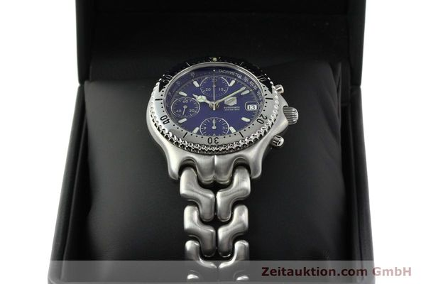 Used luxury watch Tag Heuer Link chronograph steel automatic Kal. 1.97 ETA 7750 Ref. GC2111-RO  | 142596 07