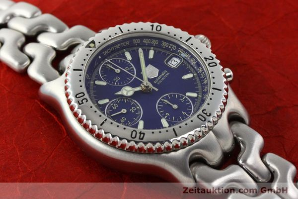 Used luxury watch Tag Heuer Link chronograph steel automatic Kal. 1.97 ETA 7750 Ref. GC2111-RO  | 142596 12