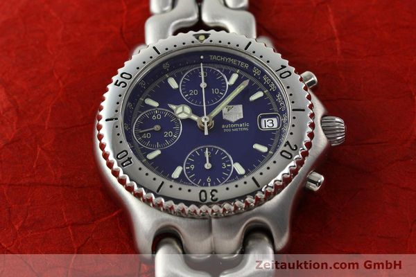 Used luxury watch Tag Heuer Link chronograph steel automatic Kal. 1.97 ETA 7750 Ref. GC2111-RO  | 142596 13