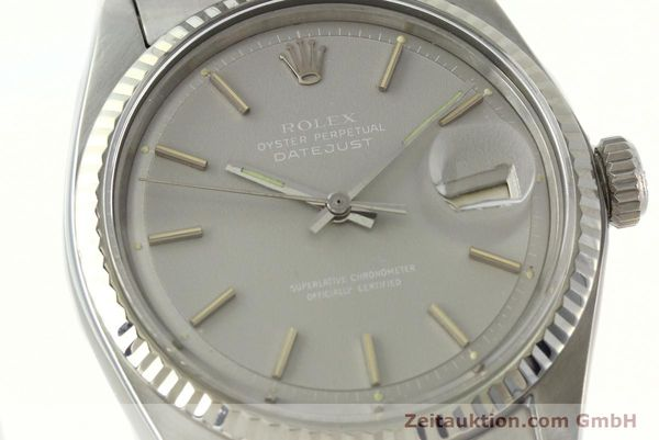 Used luxury watch Rolex Datejust steel / white gold automatic Kal. 1570 Ref. 1601  | 142597 02