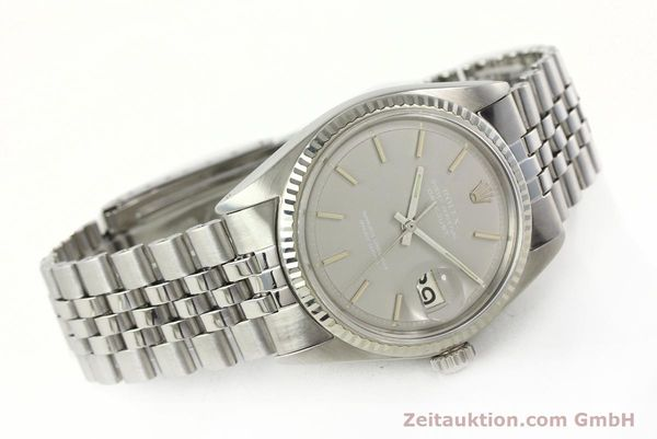 Used luxury watch Rolex Datejust steel / white gold automatic Kal. 1570 Ref. 1601  | 142597 03