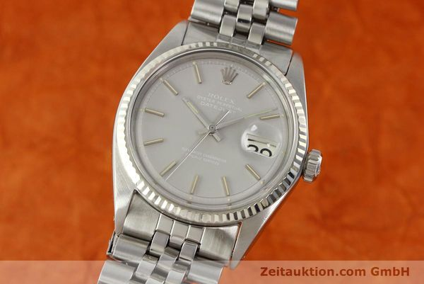 Used luxury watch Rolex Datejust steel / white gold automatic Kal. 1570 Ref. 1601  | 142597 04