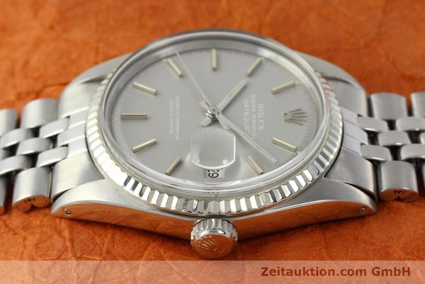 Used luxury watch Rolex Datejust steel / white gold automatic Kal. 1570 Ref. 1601  | 142597 05