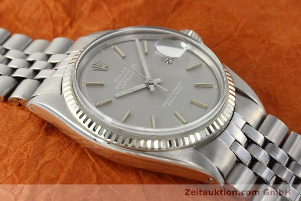 Used luxury watch Rolex Datejust steel / white gold automatic Kal. 1570 Ref. 1601  | 142597 15