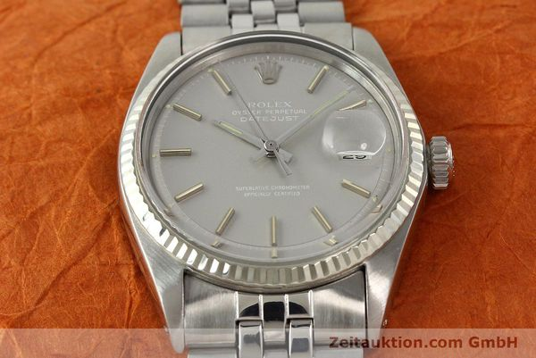 Used luxury watch Rolex Datejust steel / white gold automatic Kal. 1570 Ref. 1601  | 142597 16