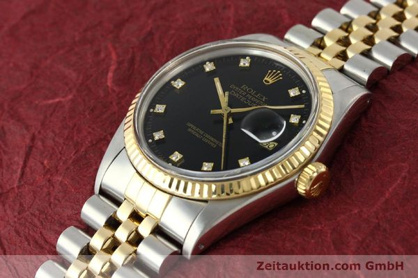 montre de luxe d occasion Rolex Datejust acier / or  automatique Kal. 3035 Ref. 16013  | 142598 01