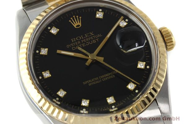 montre de luxe d occasion Rolex Datejust acier / or  automatique Kal. 3035 Ref. 16013  | 142598 02