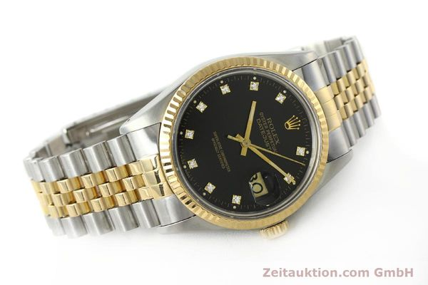 montre de luxe d occasion Rolex Datejust acier / or  automatique Kal. 3035 Ref. 16013  | 142598 03