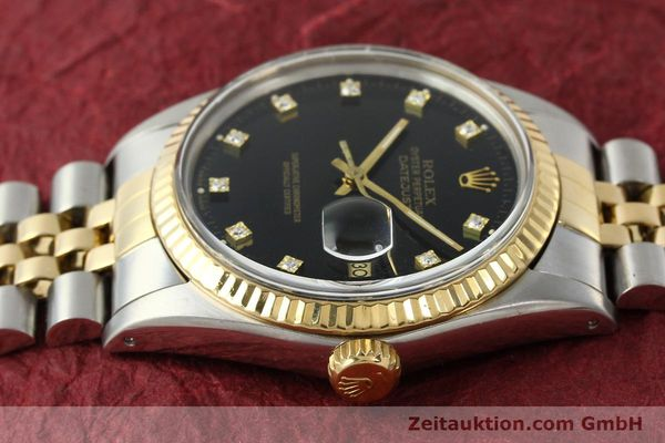 montre de luxe d occasion Rolex Datejust acier / or  automatique Kal. 3035 Ref. 16013  | 142598 05