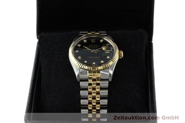 montre de luxe d occasion Rolex Datejust acier / or  automatique Kal. 3035 Ref. 16013  | 142598 07