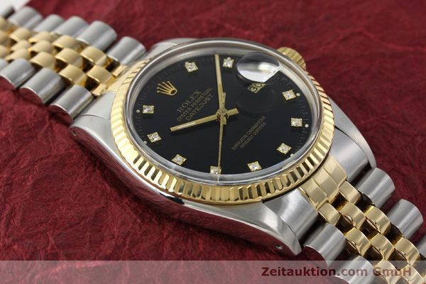 montre de luxe d occasion Rolex Datejust acier / or  automatique Kal. 3035 Ref. 16013  | 142598 14