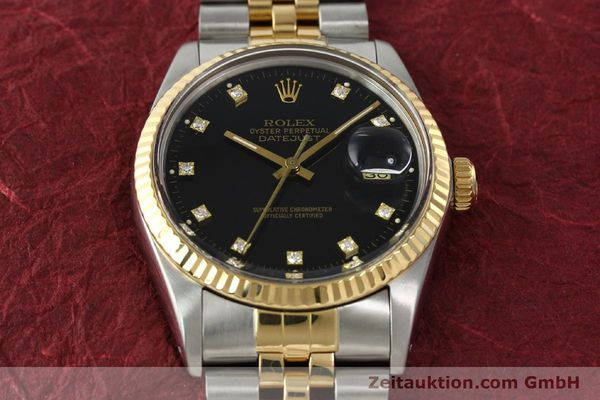 montre de luxe d occasion Rolex Datejust acier / or  automatique Kal. 3035 Ref. 16013  | 142598 15