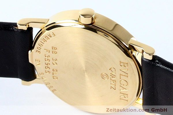 Used luxury watch Bvlgari Bvlgari 18 ct gold quartz Kal. ETA 955.412 Ref. BB30GLD  | 142600 08