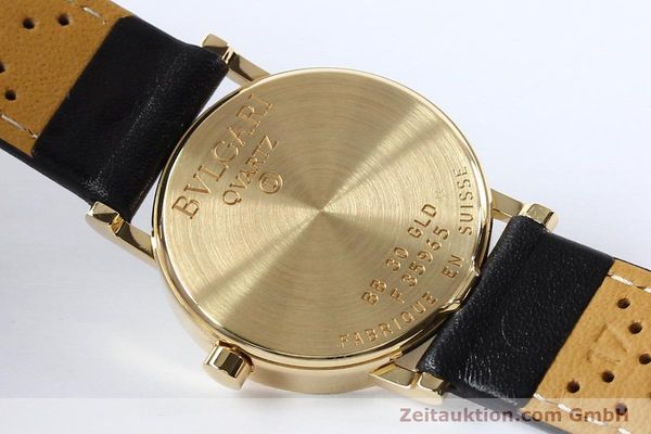 Used luxury watch Bvlgari Bvlgari 18 ct gold quartz Kal. ETA 955.412 Ref. BB30GLD  | 142600 09