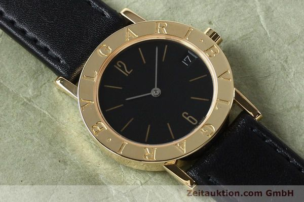 Used luxury watch Bvlgari Bvlgari 18 ct gold quartz Kal. ETA 955.412 Ref. BB30GLD  | 142600 12