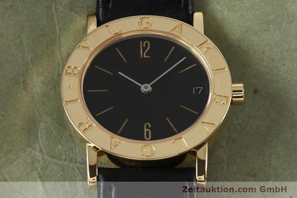 Used luxury watch Bvlgari Bvlgari 18 ct gold quartz Kal. ETA 955.412 Ref. BB30GLD  | 142600 13