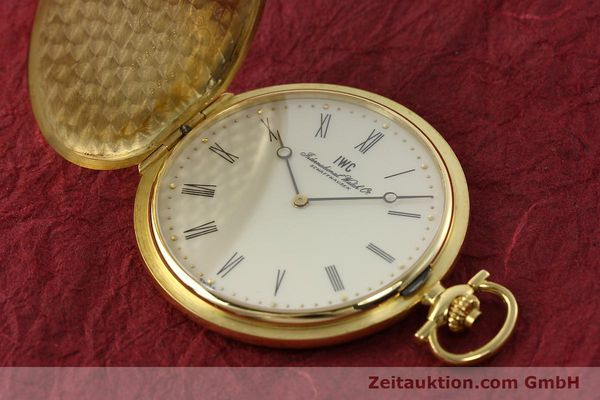 Used luxury watch IWC Taschenuhr 18 ct gold manual winding Kal. 1852 Ref. 5605  | 142601 01
