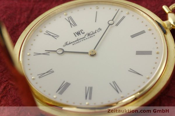 Used luxury watch IWC Taschenuhr 18 ct gold manual winding Kal. 1852 Ref. 5605  | 142601 02