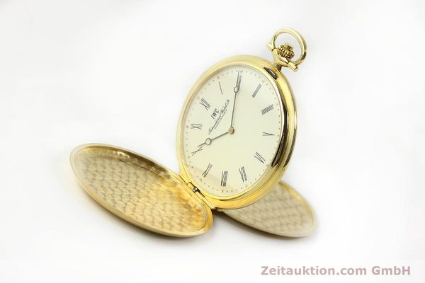 Used luxury watch IWC Taschenuhr 18 ct gold manual winding Kal. 1852 Ref. 5605  | 142601 03