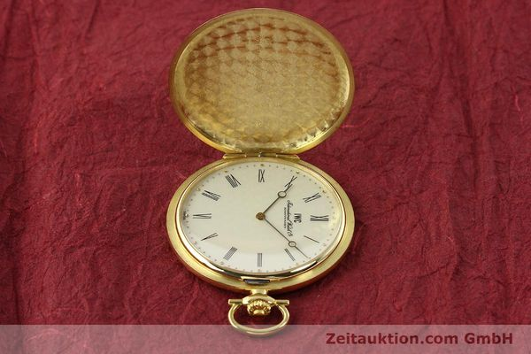 Used luxury watch IWC Taschenuhr 18 ct gold manual winding Kal. 1852 Ref. 5605  | 142601 05
