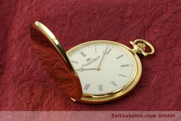 Used luxury watch IWC Taschenuhr 18 ct gold manual winding Kal. 1852 Ref. 5605  | 142601 13