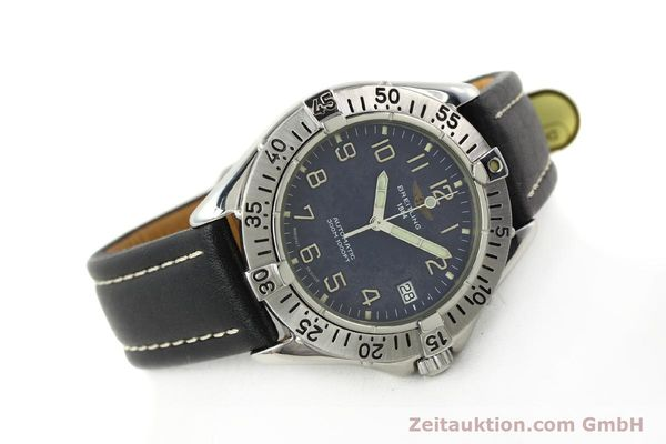 Used luxury watch Breitling Colt steel automatic Kal. B17 ETA 2824-2 Ref. A17035  | 142603 03