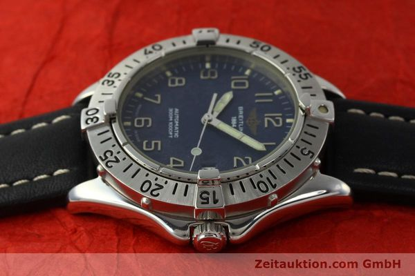 Used luxury watch Breitling Colt steel automatic Kal. B17 ETA 2824-2 Ref. A17035  | 142603 05