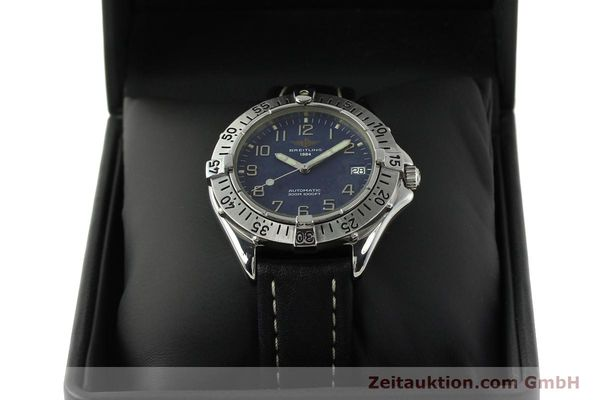 Used luxury watch Breitling Colt steel automatic Kal. B17 ETA 2824-2 Ref. A17035  | 142603 07