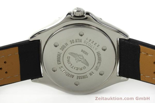 Used luxury watch Breitling Colt steel automatic Kal. B17 ETA 2824-2 Ref. A17035  | 142603 09