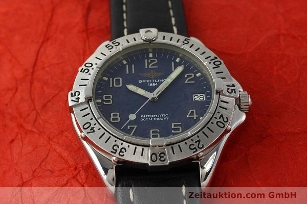 Used luxury watch Breitling Colt steel automatic Kal. B17 ETA 2824-2 Ref. A17035  | 142603 14