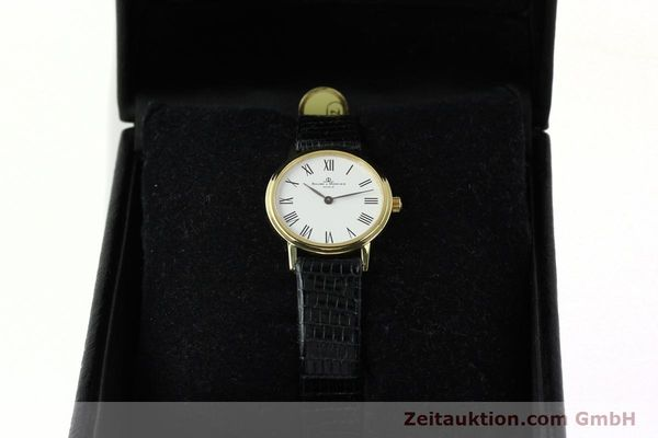 Used luxury watch Baume & Mercier * 18 ct gold quartz Kal. BM5095 ETA 976.001 Ref. MV045089  | 142604 07