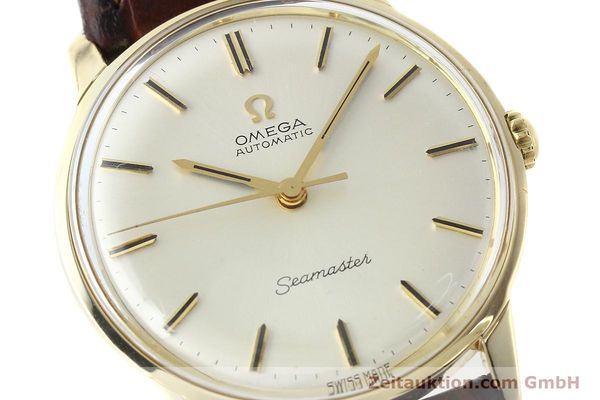 Used luxury watch Omega Seamaster 14 ct yellow gold automatic Kal. 552 Ref. 165001  | 142605 02