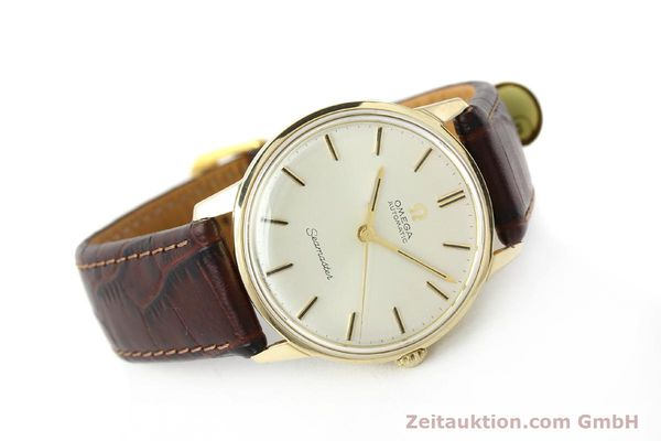 Used luxury watch Omega Seamaster 14 ct yellow gold automatic Kal. 552 Ref. 165001  | 142605 03