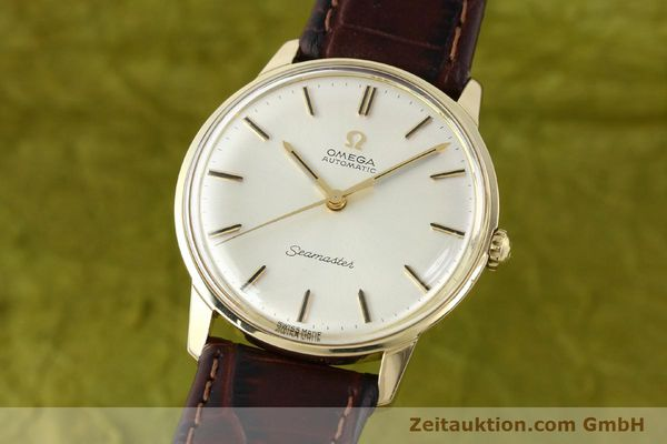 Used luxury watch Omega Seamaster 14 ct yellow gold automatic Kal. 552 Ref. 165001  | 142605 04