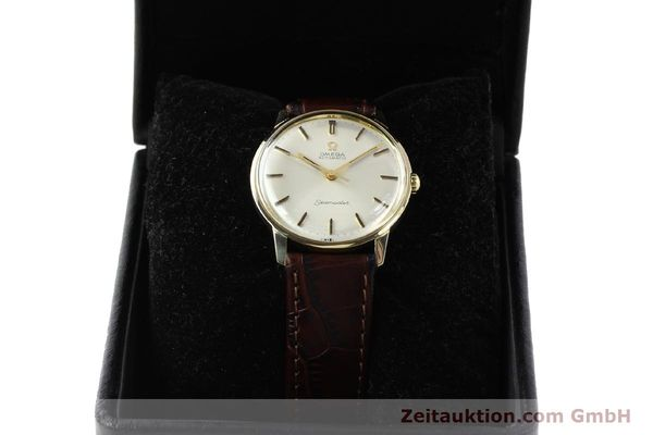 Used luxury watch Omega Seamaster 14 ct yellow gold automatic Kal. 552 Ref. 165001  | 142605 07