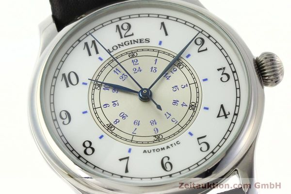 Used luxury watch Longines Weems Navigation Watch steel automatic Kal. L628.1 Ref. 628.5241  | 142606 02
