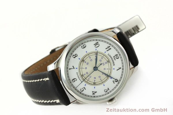 Used luxury watch Longines Weems Navigation Watch steel automatic Kal. L628.1 Ref. 628.5241  | 142606 03