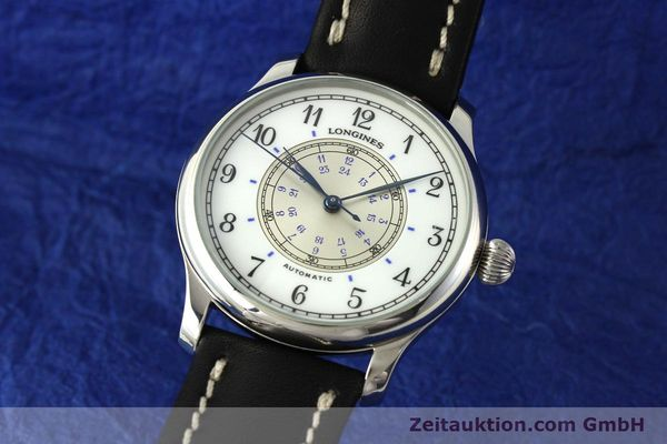 Used luxury watch Longines Weems Navigation Watch steel automatic Kal. L628.1 Ref. 628.5241  | 142606 04