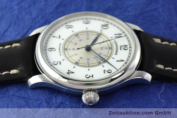 Used luxury watch Longines Weems Navigation Watch steel automatic Kal. L628.1 Ref. 628.5241  | 142606 05