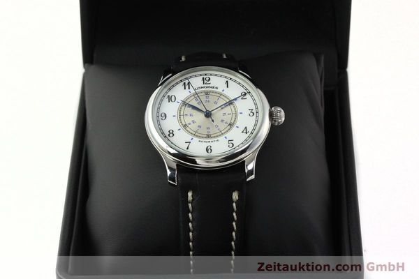 Used luxury watch Longines Weems Navigation Watch steel automatic Kal. L628.1 Ref. 628.5241  | 142606 07