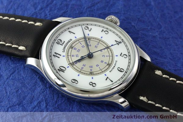 Used luxury watch Longines Weems Navigation Watch steel automatic Kal. L628.1 Ref. 628.5241  | 142606 13