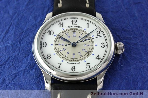 Used luxury watch Longines Weems Navigation Watch steel automatic Kal. L628.1 Ref. 628.5241  | 142606 14