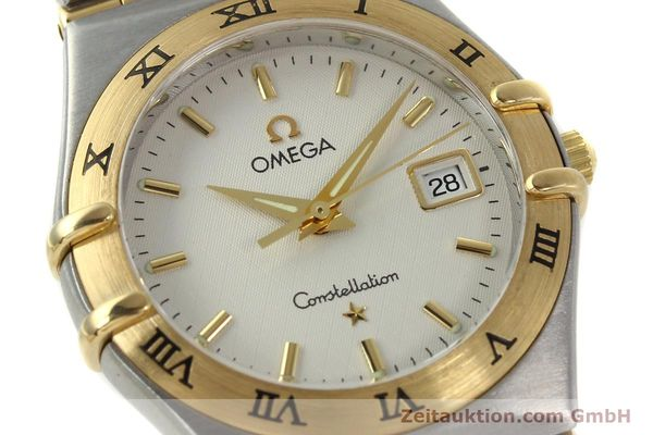 montre de luxe d occasion Omega Constellation acier / or  quartz Kal. 1424 ETA 256461 Ref. 1282.30.00  | 142607 02