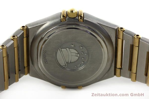 montre de luxe d occasion Omega Constellation acier / or  quartz Kal. 1424 ETA 256461 Ref. 1282.30.00  | 142607 09