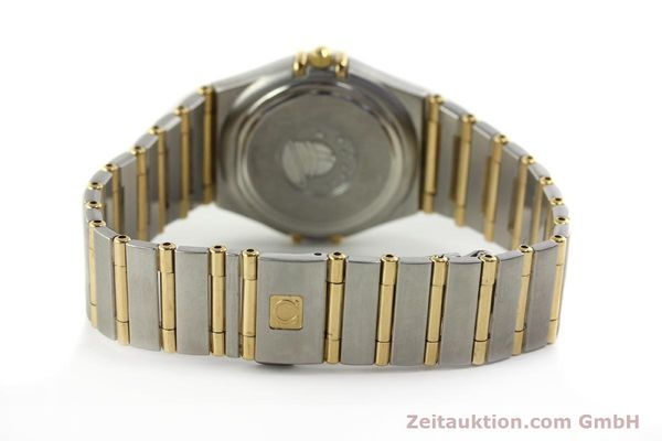 montre de luxe d occasion Omega Constellation acier / or  quartz Kal. 1424 ETA 256461 Ref. 1282.30.00  | 142607 12