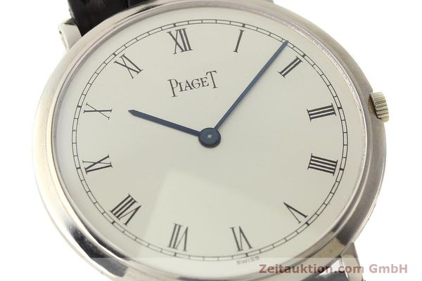 Used luxury watch Piaget Altiplano 18 ct white gold manual winding Kal. 9P Ref. 902  | 142608 02